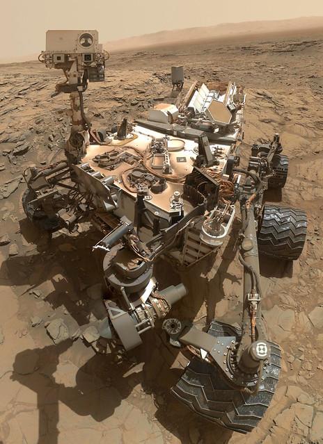 VCSE - A Curiosity szelfihe - Forrás: NASA, Curiosity