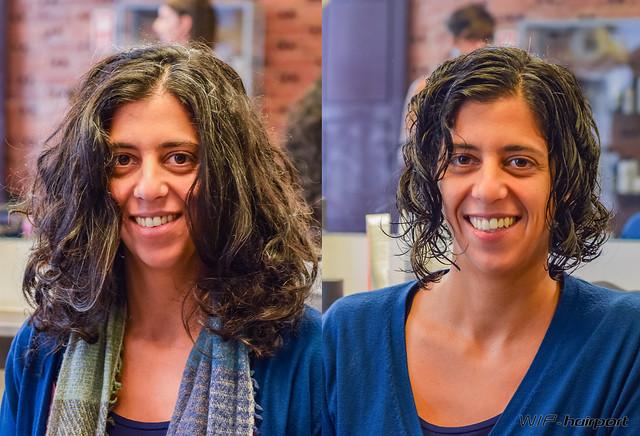 Haircut by Núria