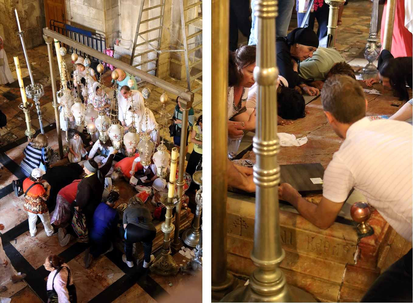 Jerusalem, Pyhän Haudan kirkko, voitelukivi