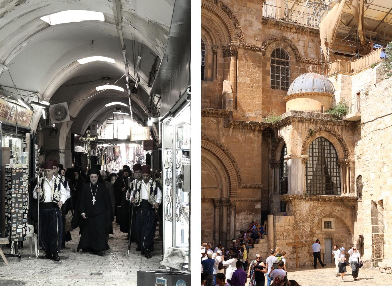 Jerusalem, kulkue, Pyhän Haudan kirkko