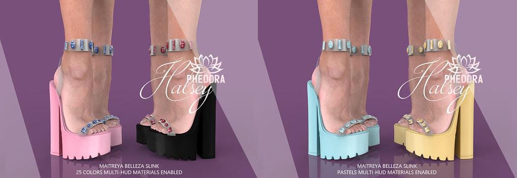 "Phedora for Belle Event ~ ""Halsey"" Platforms ♥"