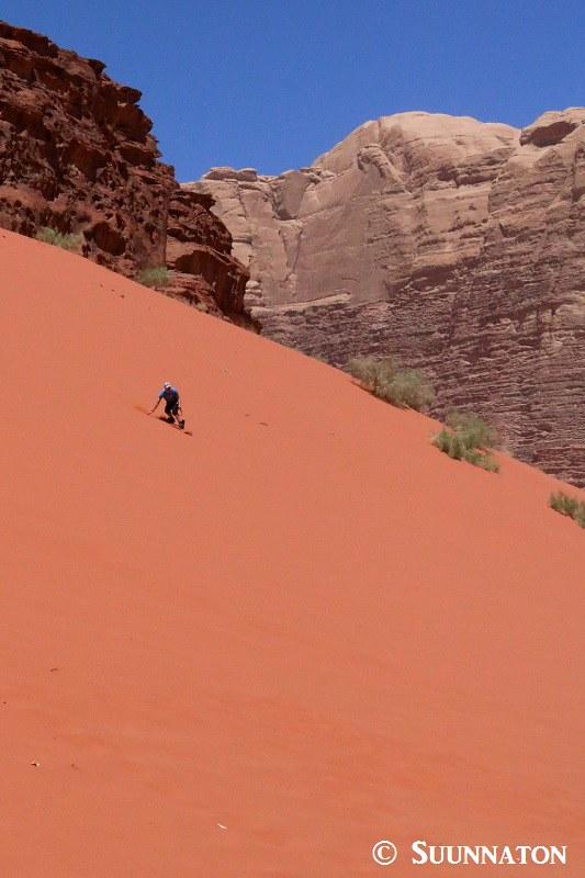 Wadi Rum, Red Sand Dunes
