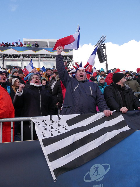 Ambiance du samedi 21 décembre - BMW IBU WC Annecy - Le Grand-Bornand