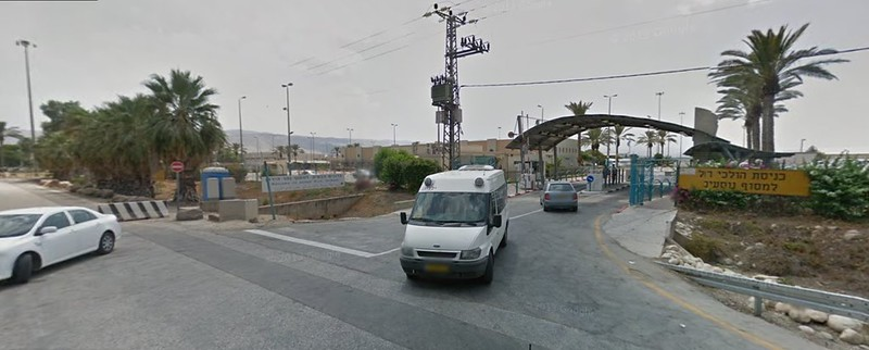 Israel, Sheikh Hussein Bridge, googlemaps
