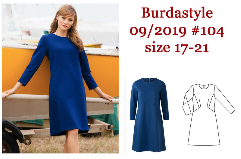 Sept 19 mod dress burda mag