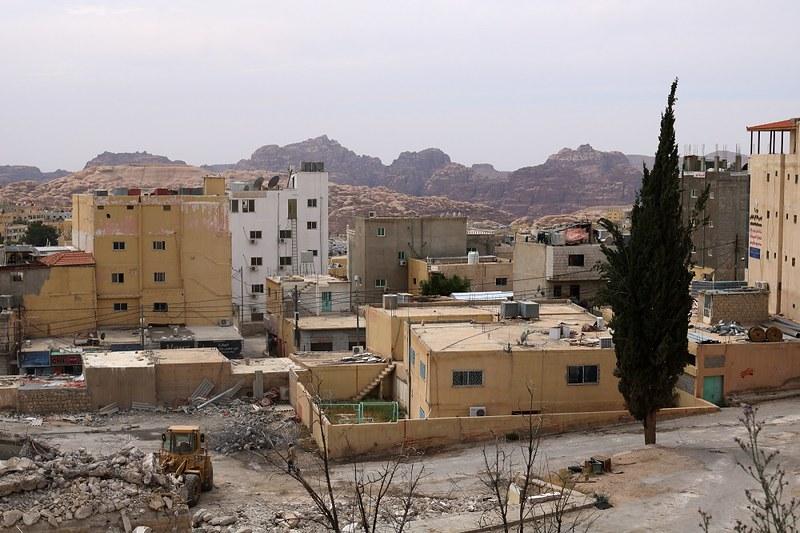 Wadi Musan rakennuksia