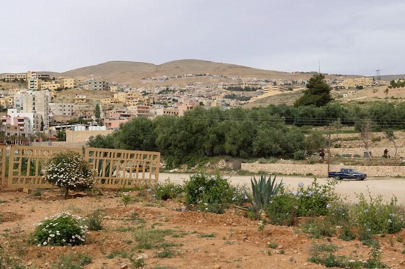 Wadi Musa Petran sisäänkäynniltä