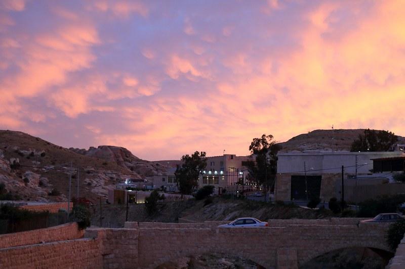 Wadi Musa Petran sisäänkäynnillä