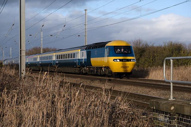 LNER HST Farewell Tour at Conington