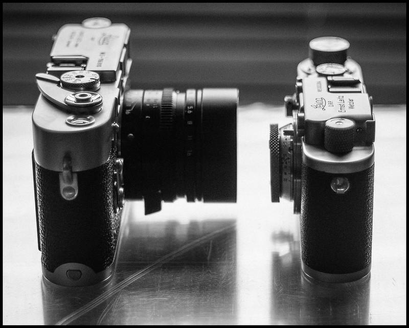 Leica Elmar + Nooky Hesum