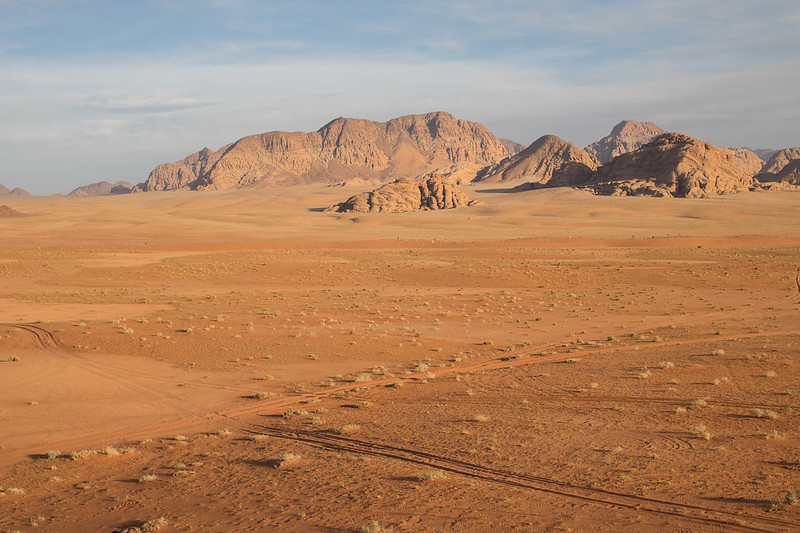 Wadi Rum, the Chicken Rock, maisema