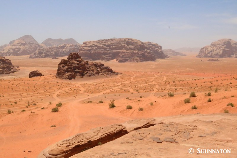 Wadi Rum, House of Lawrence, maisema