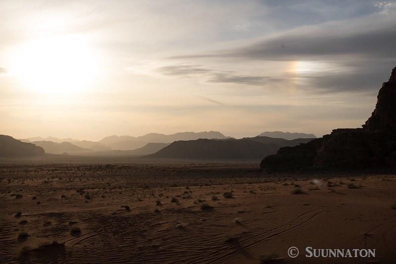 Wadi Rum, the Chicken Rock, auringonlasku