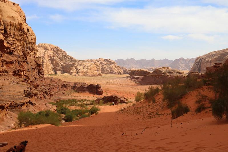Wadi Rumin maisemat