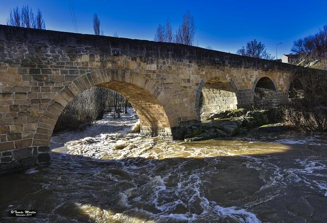 Puente medieval de Ávila.