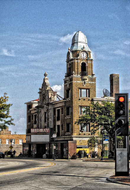 Rockford Illinois - Midland Theatre -