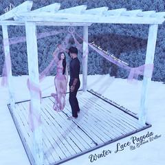 Winter Lace Pagoda Ad