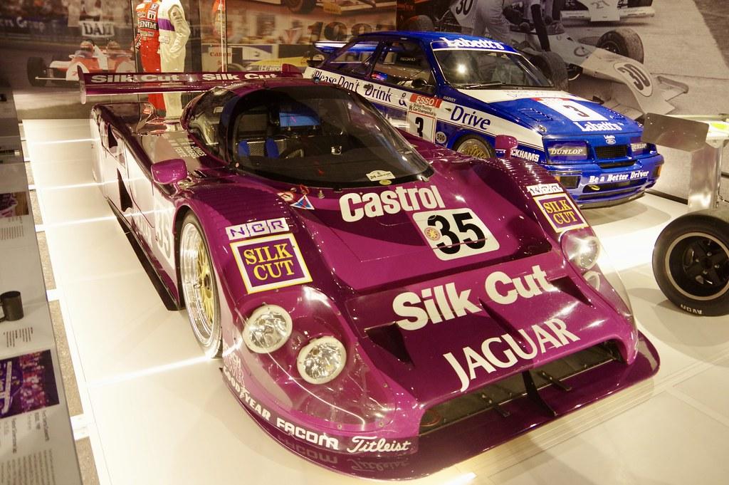 1991 Jaguar XJR-12   This car took 2nd place at Le Mans ...