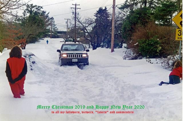 The BIG Snow of '96 + Christmas Greetings 2019