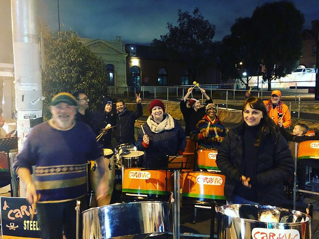 Steelpans in Northcote VICT