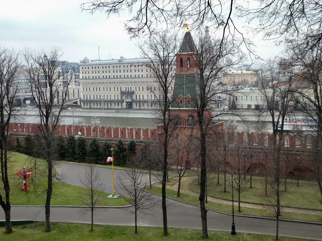 View from the Kremlin over the River Moskva