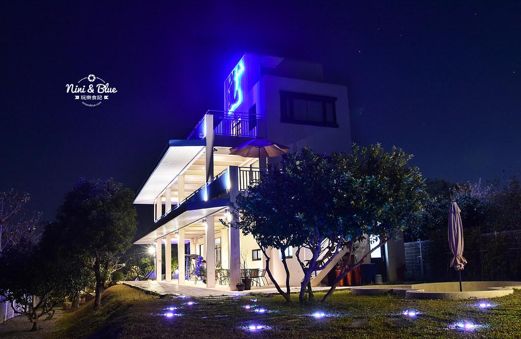 萬里嵐 台中萬里長城登山步道 藍色公路 夜景景觀餐廳 36