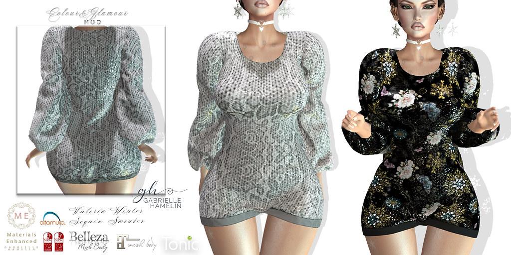 Winter Valeria Sequins – Glamour Edition