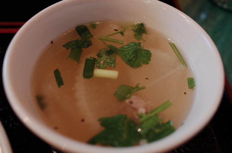 池袋西口プリック大根のスープ