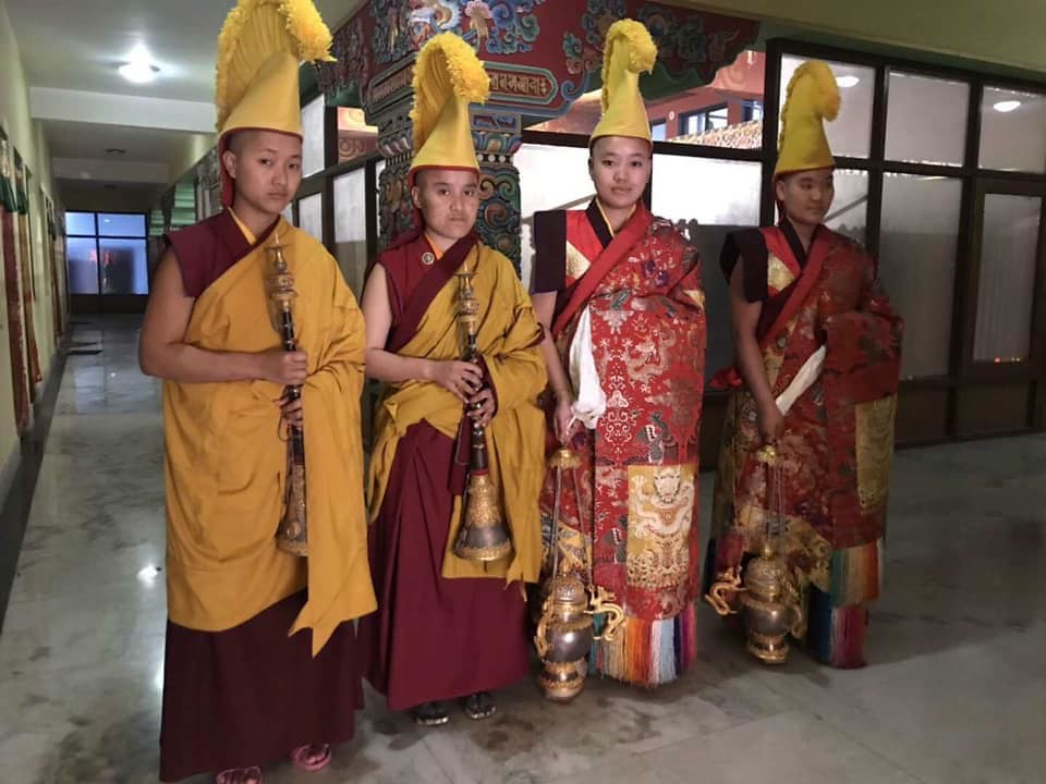 2019.01.24 His Eminence Goshir Gyaltsab Rinpoche Inaugurates the 5th Arya Kshema