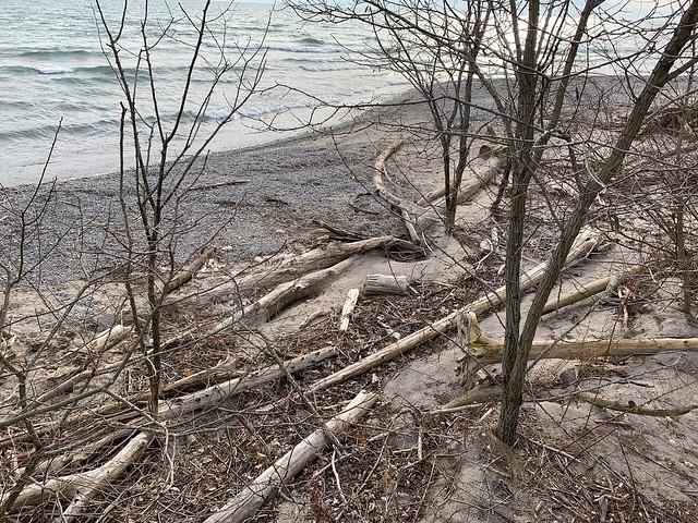 Squires Beach and Lake Ontario , Ajax , Ontario , Canada , Martin's photographs , December 13. 2019