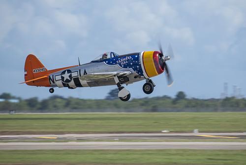Tarheel Hal P-47 Taking Off