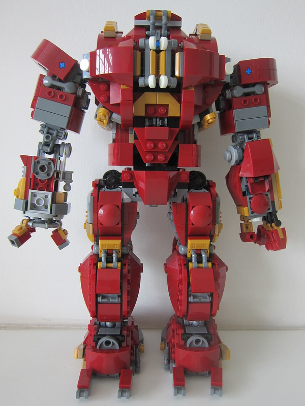 LEGO The Hulkbuster: Ultron Edition 76105 - Back
