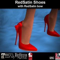 RedSatin Shoes