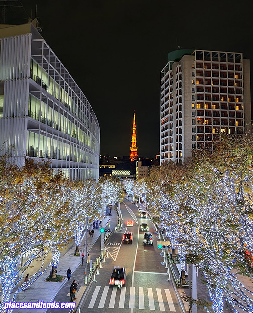 roppongi hills christmas illumination