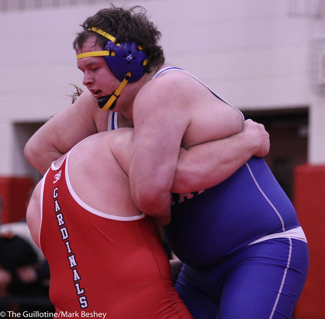 285 1st Place Match - Kaleb Haase (Redwood Valley) 14-0 won by decision over Scot Edwards (Adrian Area) 12-1 (Dec 5-0) - 191221bmk0156