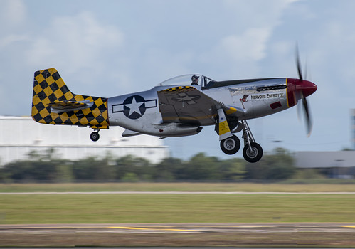 North American P-51D Taking Off