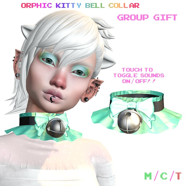 Orphic Kitty Bell Collar Group Gift