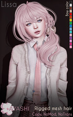 [^.^Ayashi^.^] Lissa hair special for Flora Event