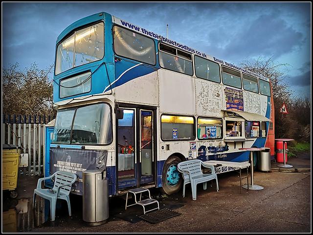 The Big Blue Food Bus