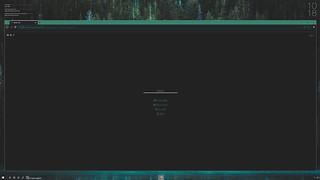 Rainmeter Wooden Ice Desktop incl Firefox