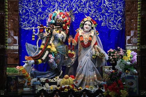 ISKCON Nigdi Deity Darshan 22 Dec 2019