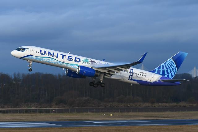 N14106 Boeing B757-224 EGPH 21-12-19