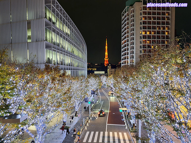 roppongi hills christmas illumination tokyo skytree