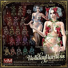 "!dM deviousMind ""Holiday"" Candy&Lights Shibari **GACHA KEY**"
