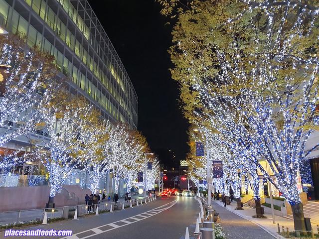 roppongi hills christmas illumination 2019 keyakizaka