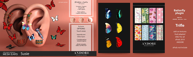 :ANDORE: @ Susie new for Flora Event