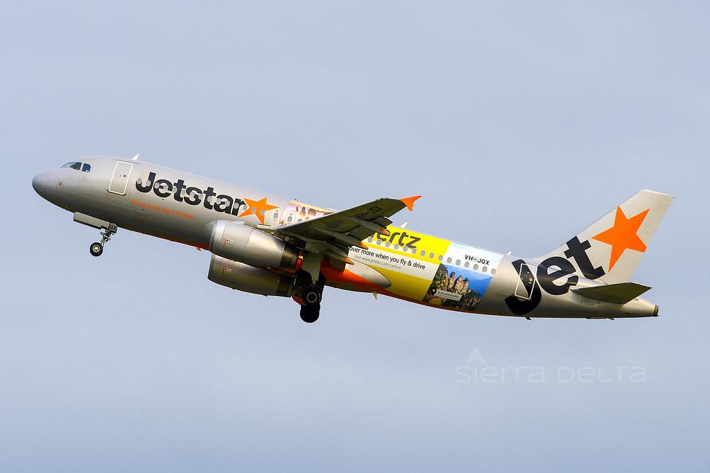 VH-JQX A320 JETSTAR YBBN