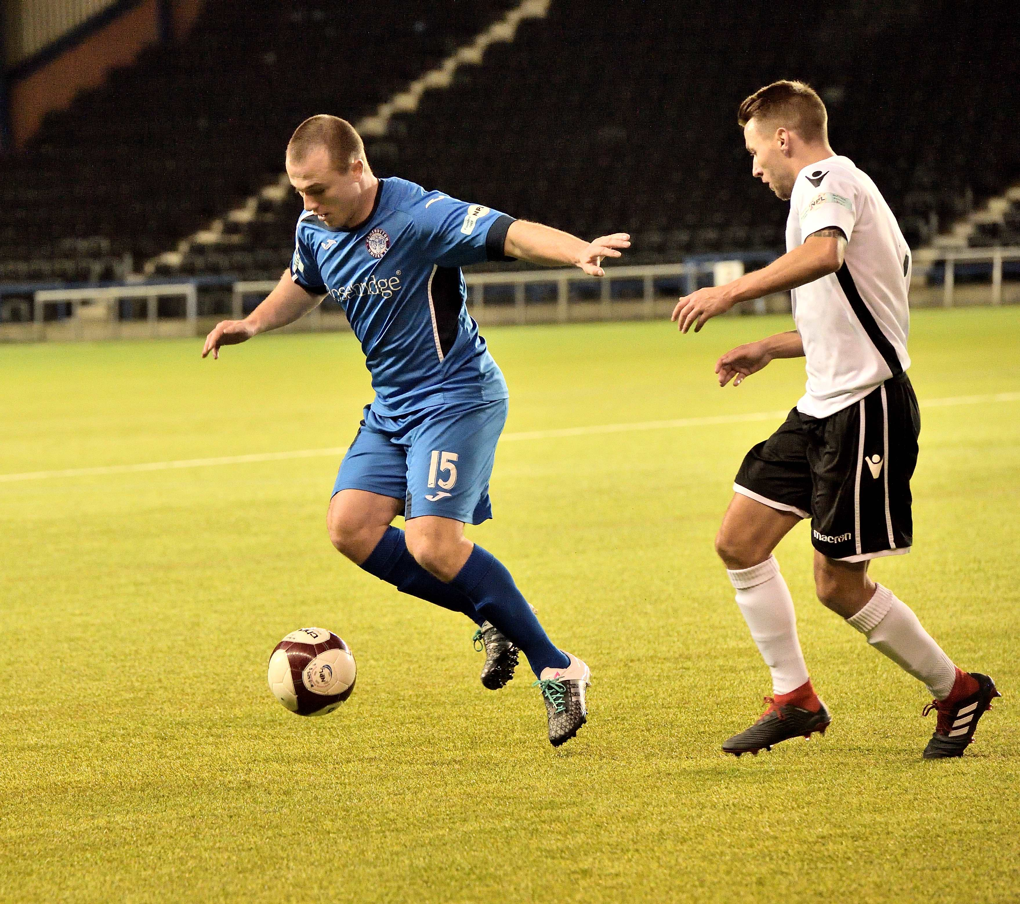 Widnes 2 Rams 2 - Match action