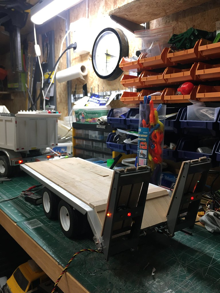 Homemade Tag Trailer Rc Truck And Construction