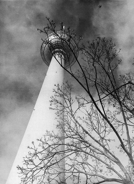 Caffenol: Berlins Fernsehturm
